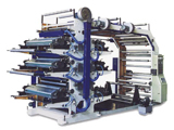 YT Series Six-Colors Flexography Printing Machine